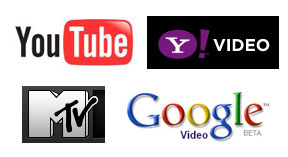 you tube mtv google yahoo