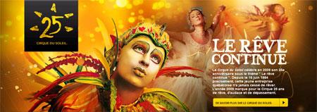 Cirque Du Soleil 25 years
