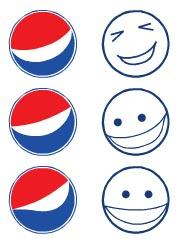Pepsi Smiley logos