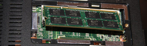 1005ha memory module slanted up