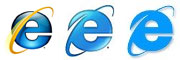ie logo versions