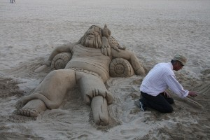 Barcelona Beach: Ron the Sandman